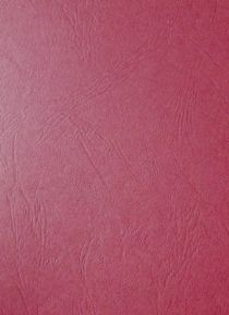 100 x A4 Maroon Leather Embossed Card Stock - 255gsm